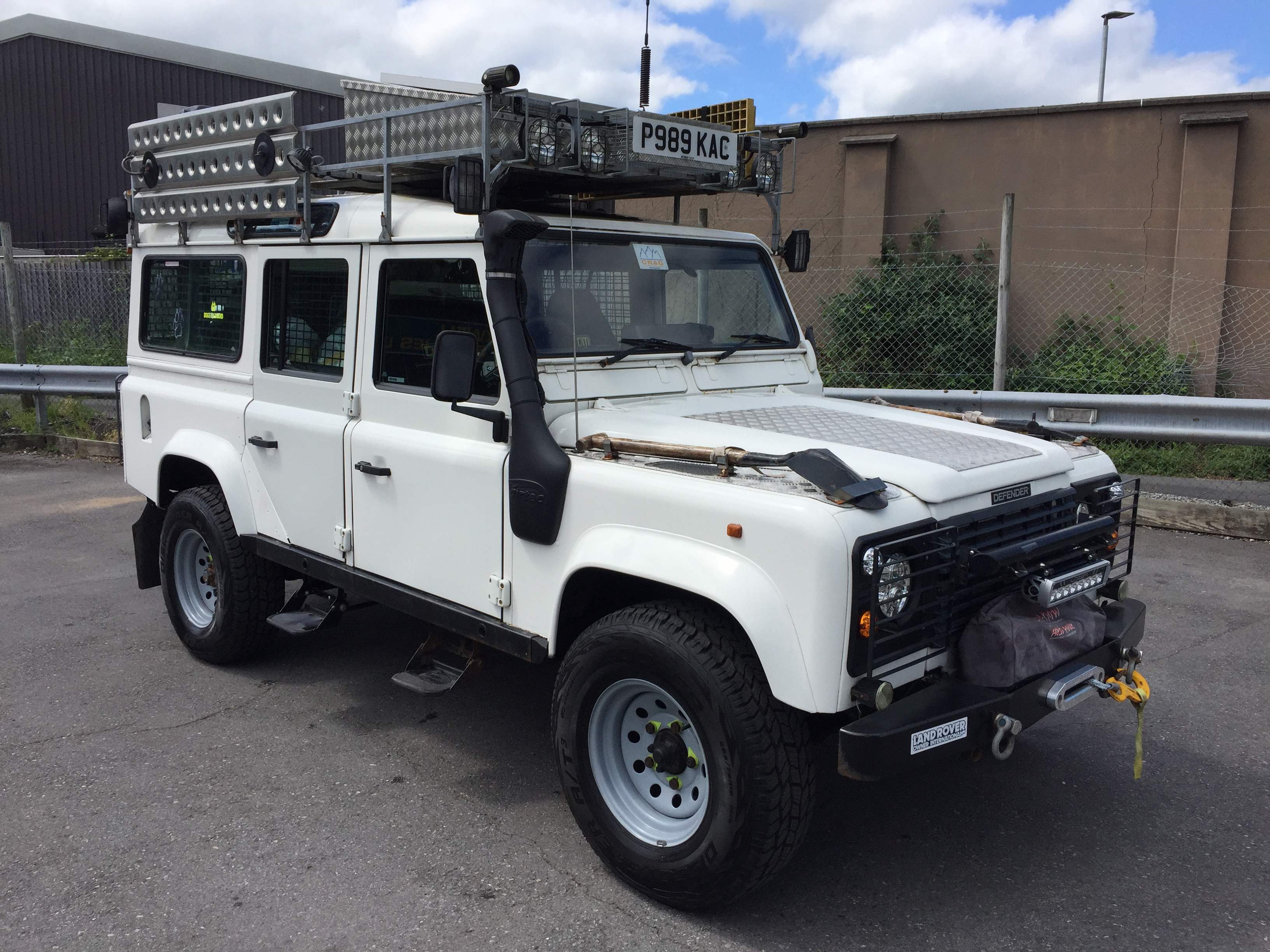 1996 Land Rover 110 300 Tdi Expedition Station Wagon