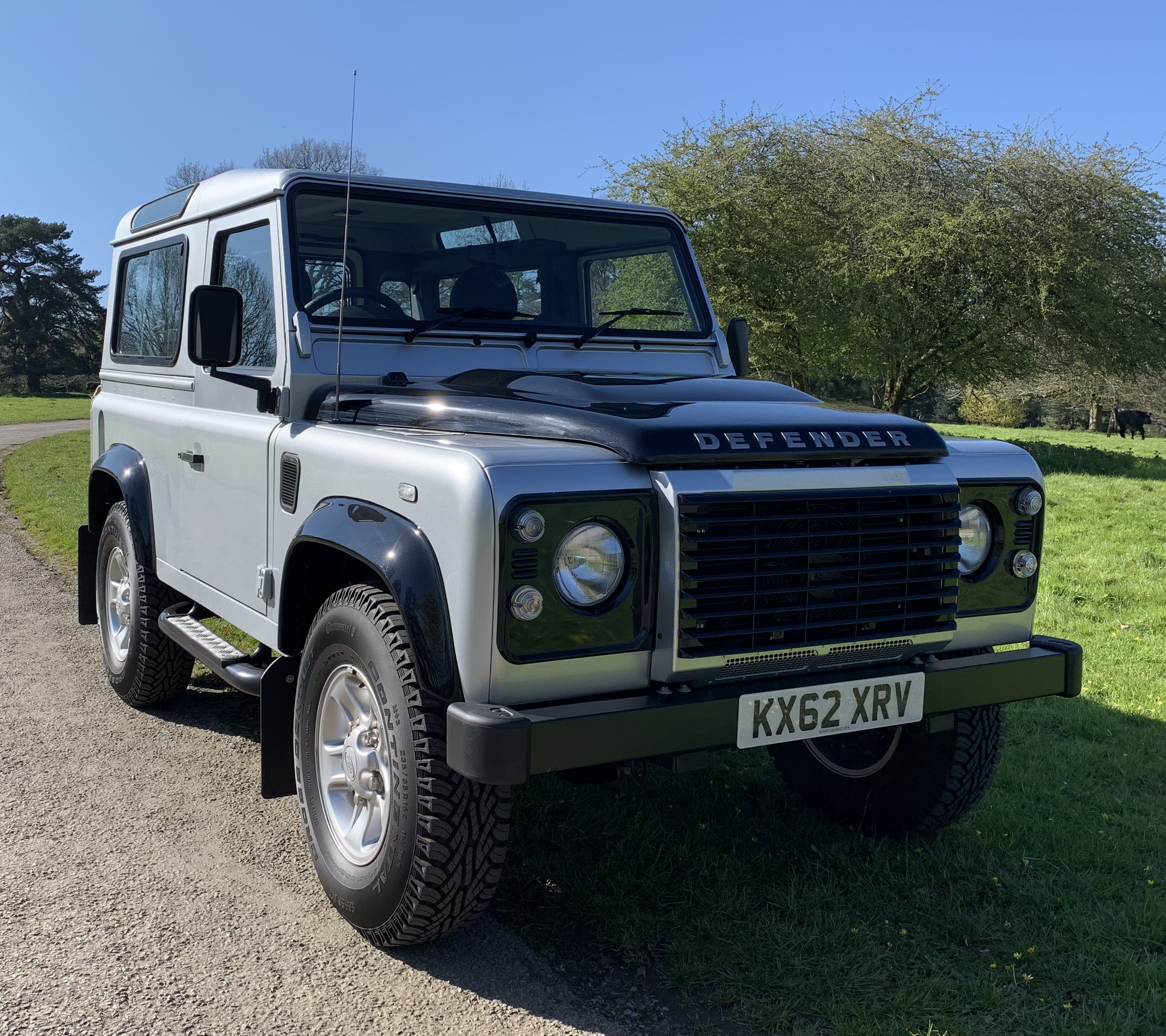 2012 Defender 90 XS TD Station Wagon – ONLY 970 miles