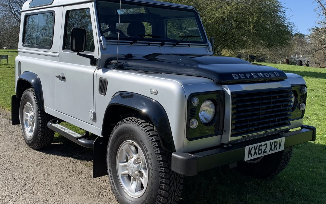2012 Defender 90 XS TD Station Wagon – ONLY 975 miles