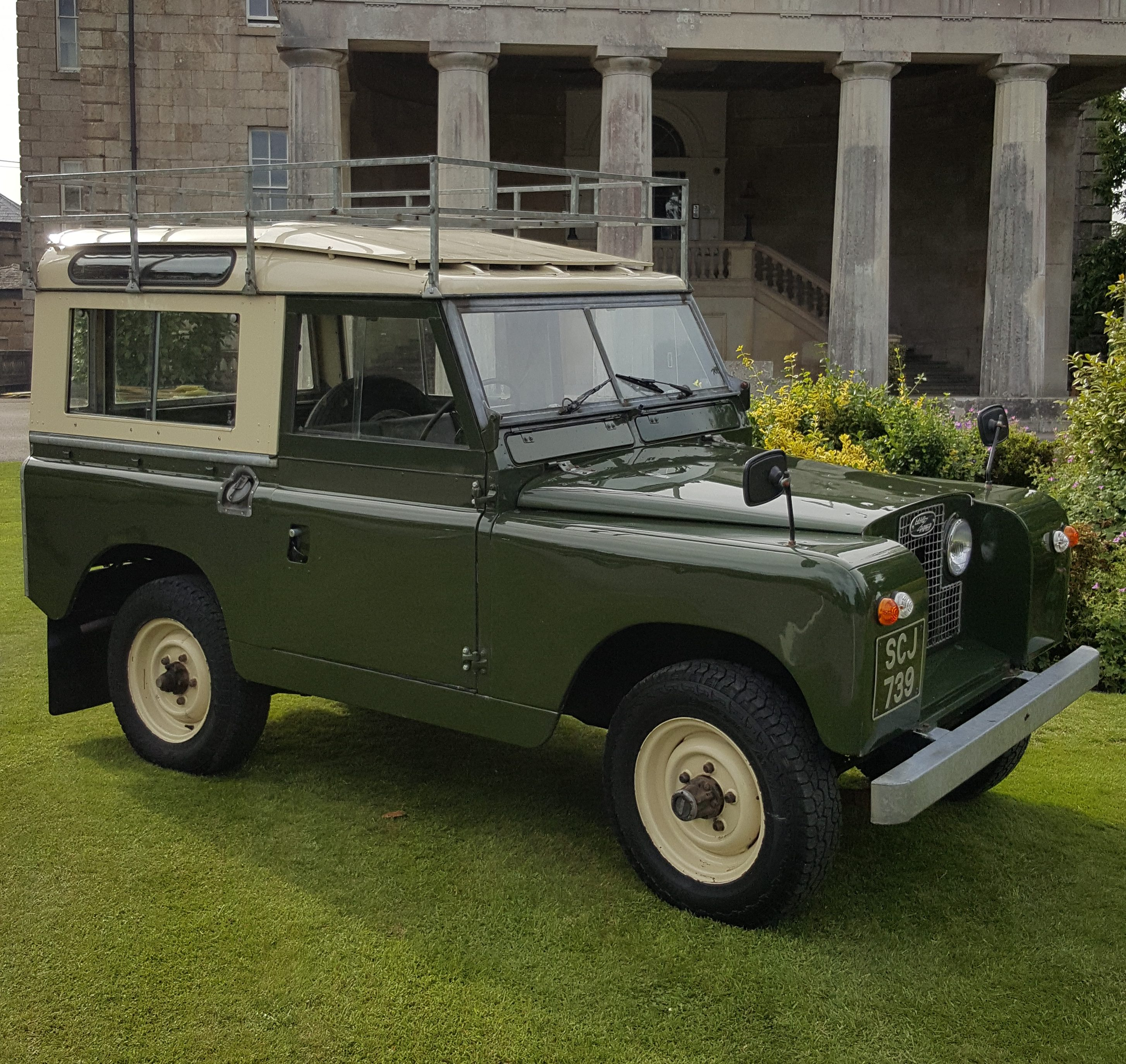 1958 Land Rover Series 2 88″ Station Wagon