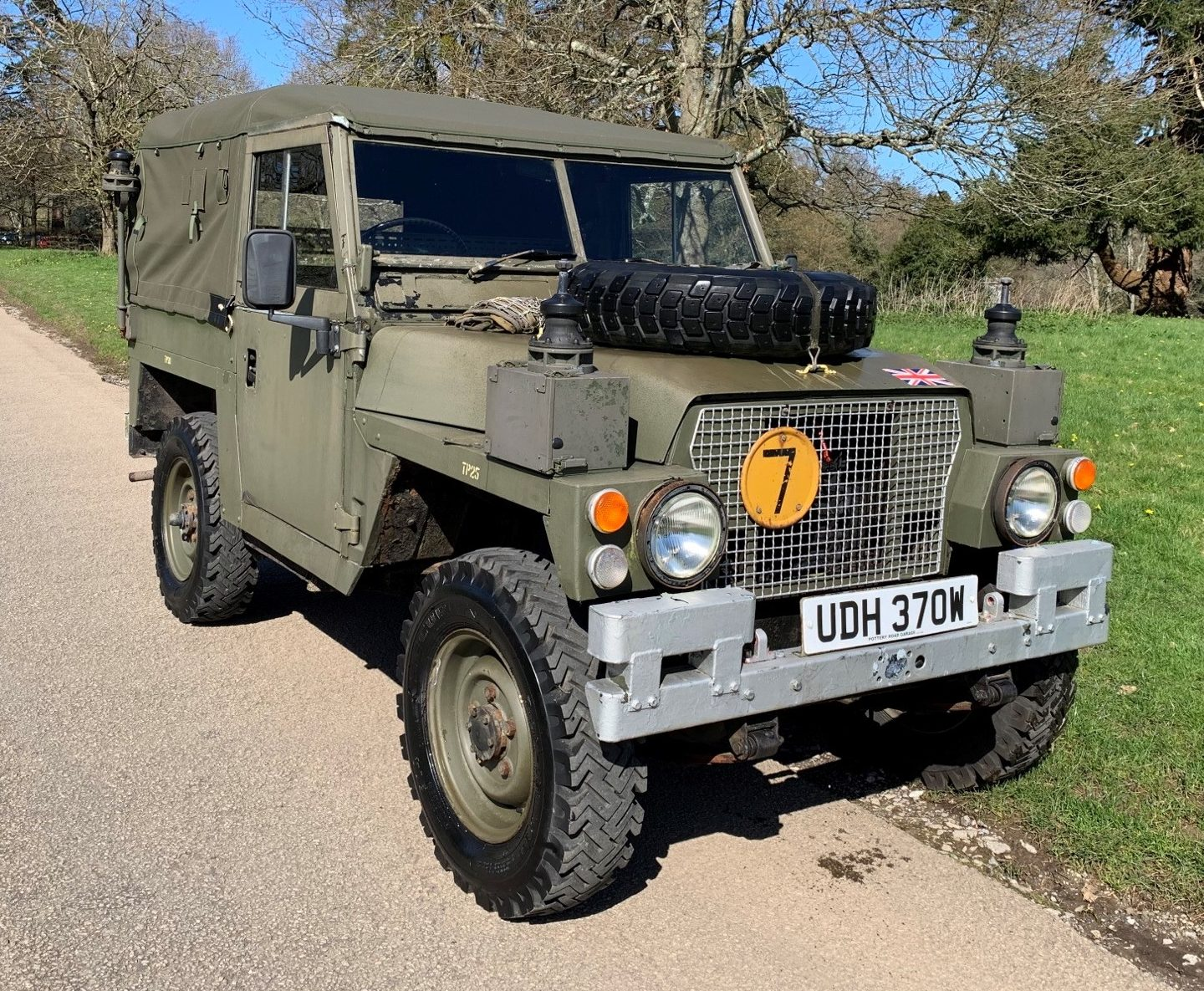 1981 Land Rover Series 3 FFR Ex Army Station Wagon 88