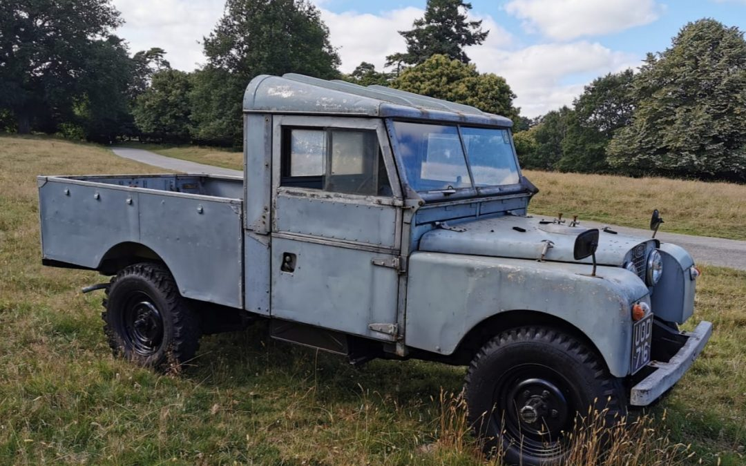 1956 Land Rover Series 1, 109 Pick-Up